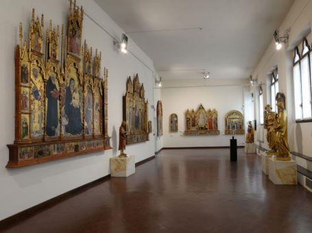 Siena (SI) - Pinacoteca nazionale, interno
